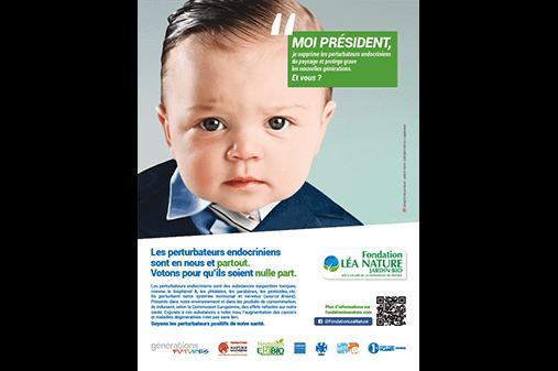 Première campagne engagée de la Fondation sur les perturbateurs endocriniens