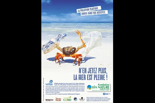 Campagne engagée de la Fondation en faveur des océans sans plastique