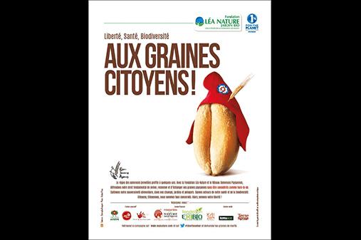 Campagne engagée de la Fondation en faveur de la liberté de semer