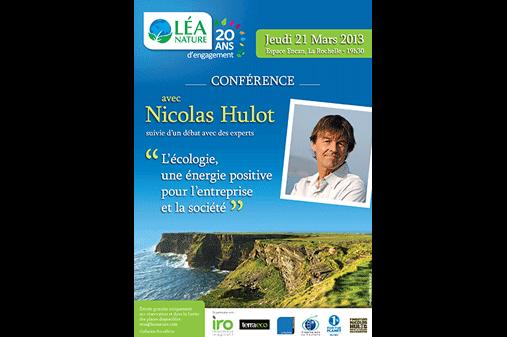 Conférence Environnement avec Nicolas Hulot